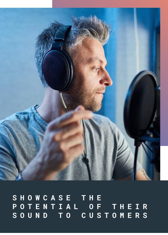 Showcase sound potential