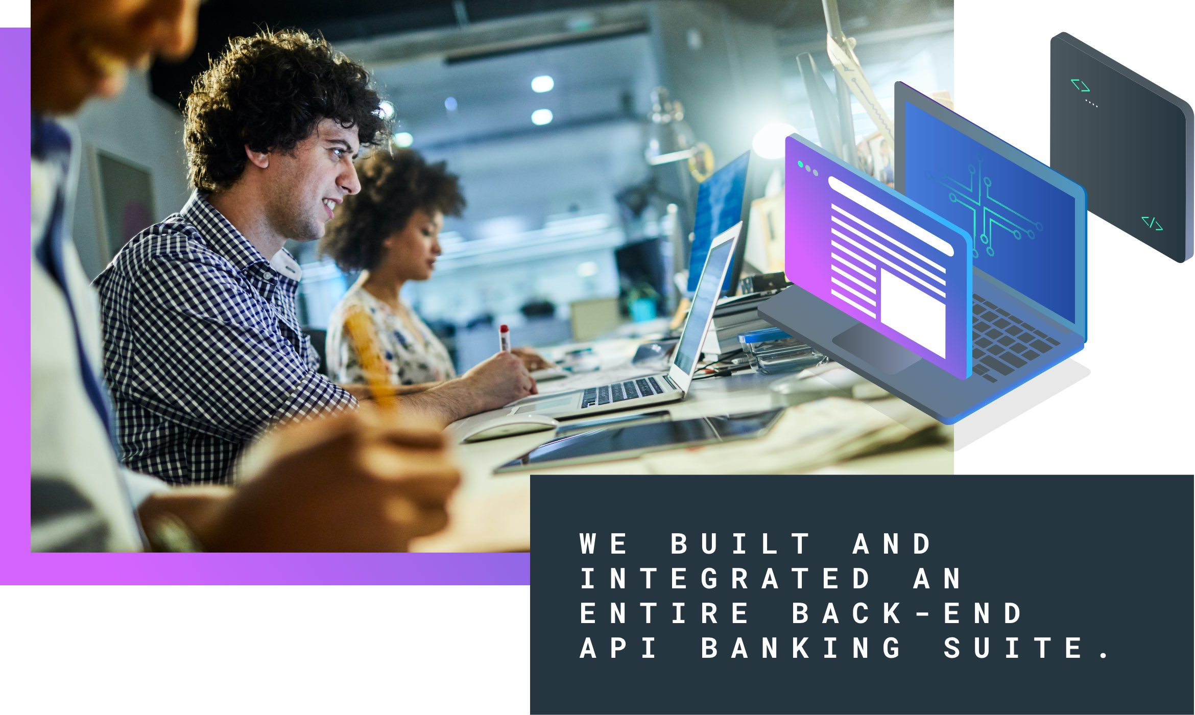 API banking suite build