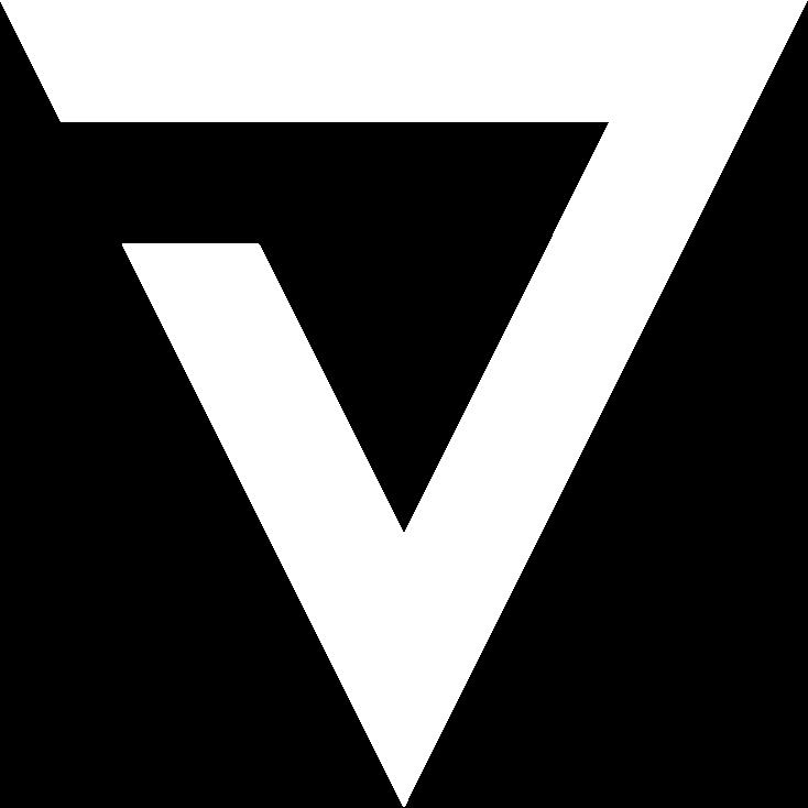 white Terminus 7 logo