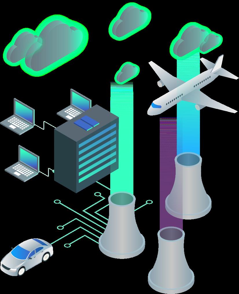diagram of emission sources