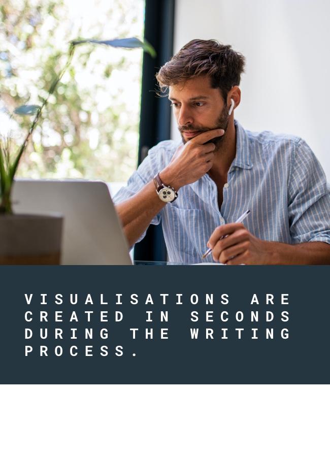 Auto-generated visual statistics