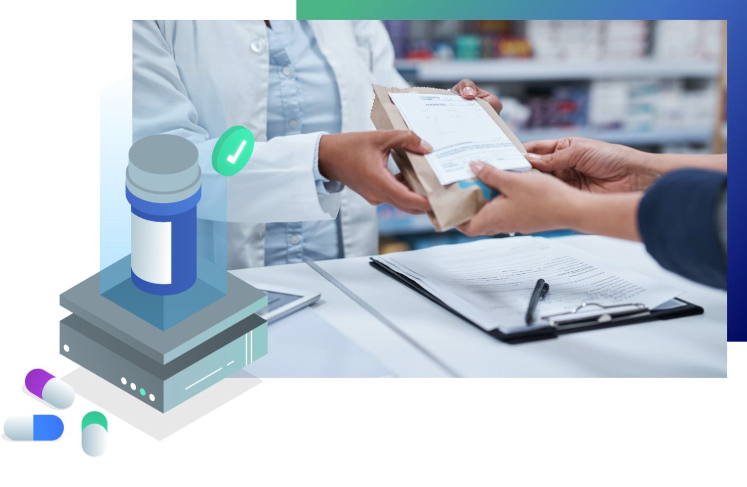 our process for pharmaceutical data forecasting
